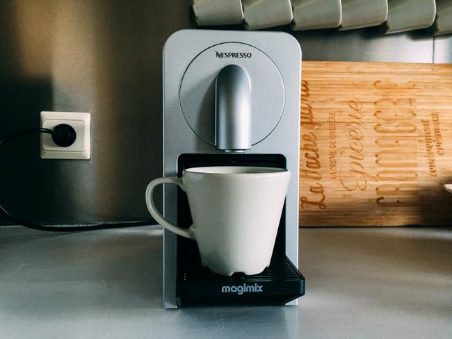 La première machine à café connectée